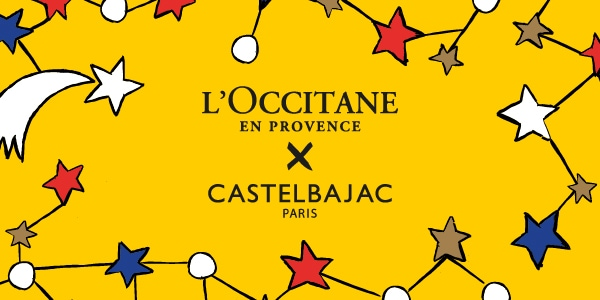 L'OCCITANE AND CASTELBAJAC PARIS COLLABORATION