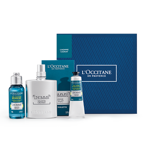 Refreshing L'Homme Cedrat Collection - L'Occitane