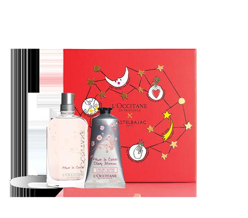 Set Navidad Flor de Cerezo