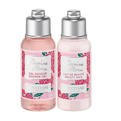 PIVOINE FLORA BODY MILK AND SHOWER GEL DUO