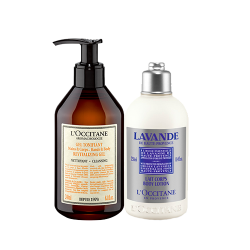 FATHER'S DAY SPECIAL AROMACHOLOGIE GEL AND LAVENDER BODY LOTION GIFTSET