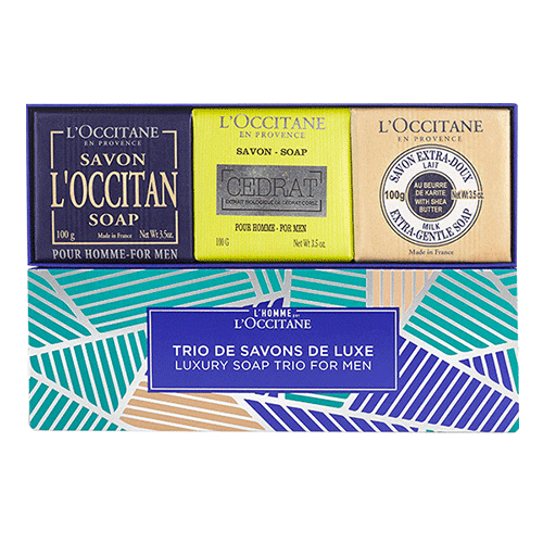 Luxury Soap Trio For Men