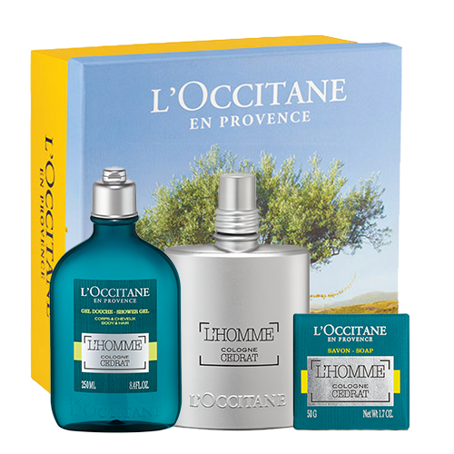Zesty L'homme Cedrat Collection