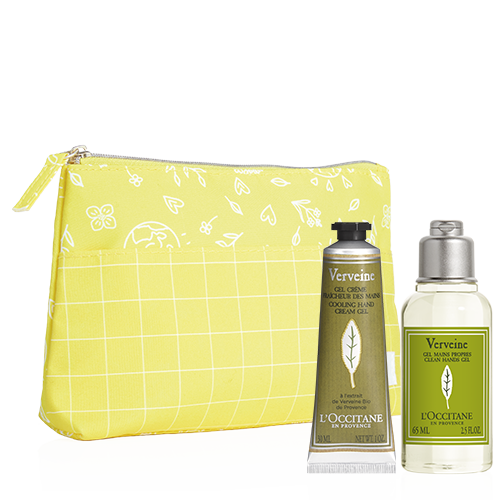Travel size hand care set