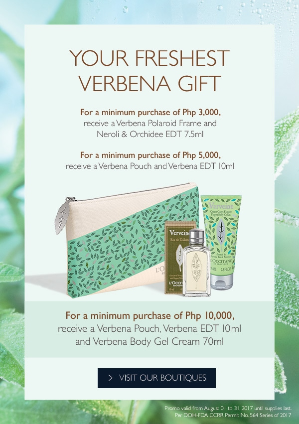 Your Freshest Verbena Gift