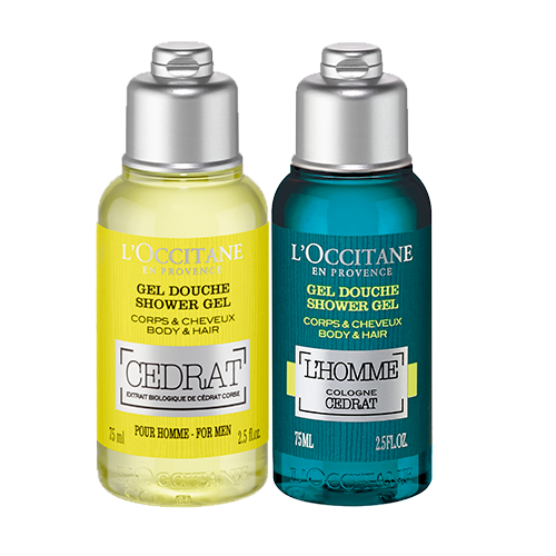 CEDRAT SHOWER GEL DUO