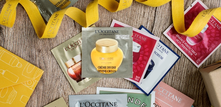 Complimentary Samples- L'Occitane