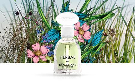 Jūsų DOVANA, perkant už 25 € ar daugiau:  Parfumuotas vanduo HERBAE 5 ml, 10 €