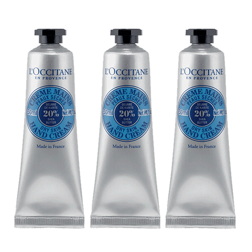 Shea Butter Hand Cream Trio