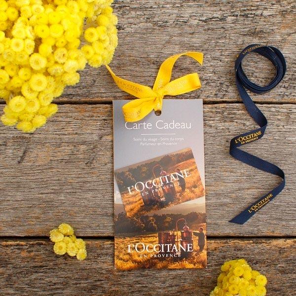 Gift Cards - l'occitane