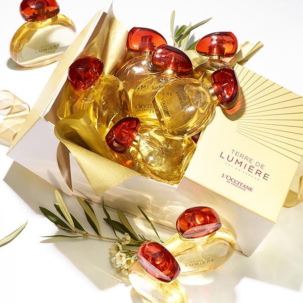 Vůně pro ni - Umění dárkového balení - L'Occitane