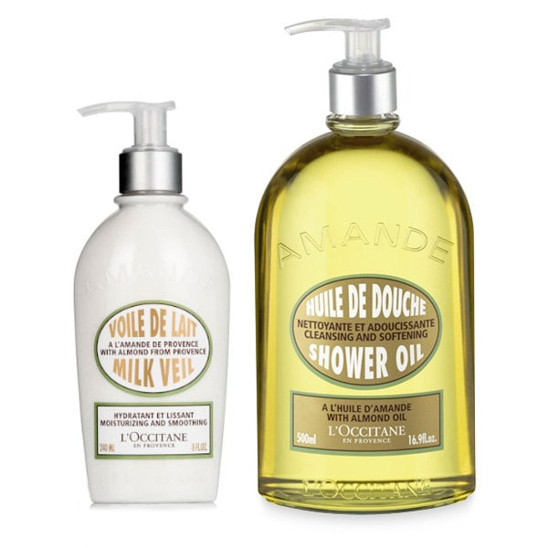 Almond Shower & Moisturizing Duo