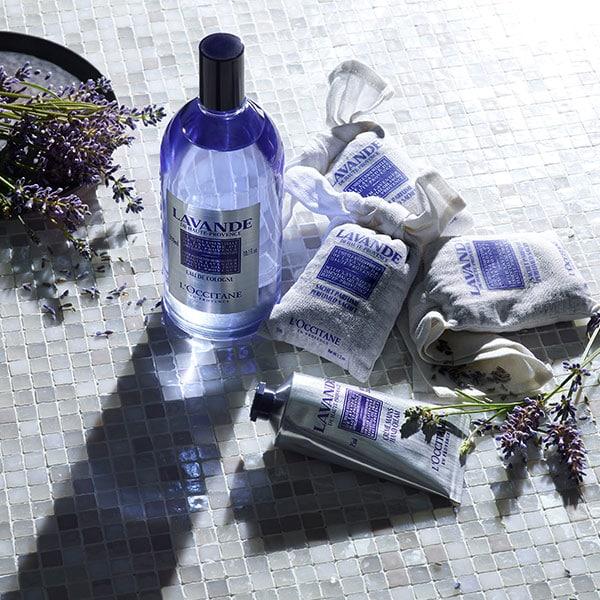 Francijā ražoti ķermeņa kopšanas produkti ar lavandas ēterisko eļļu