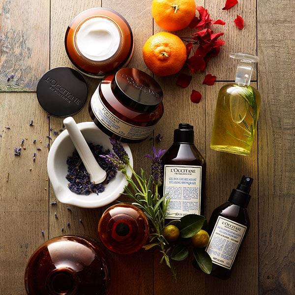 Aromakaloģijas produkti ar ēteriskajām eļļām