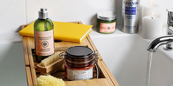 a relaxing spa day at home - GOLDEN RULES - l'Occitane