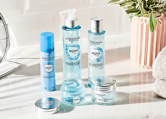 Aqua Réotier Collection | L'OCCITANE Malaysia