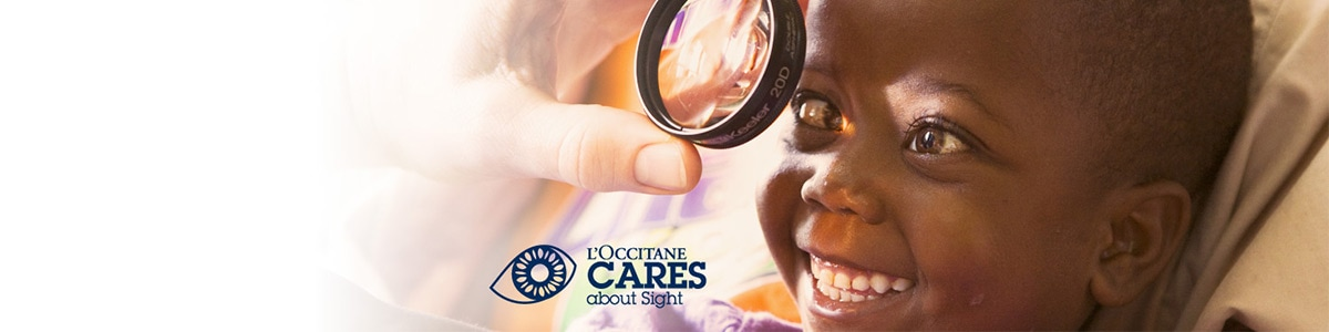 Help fight avoidable blindness - l'Occitane