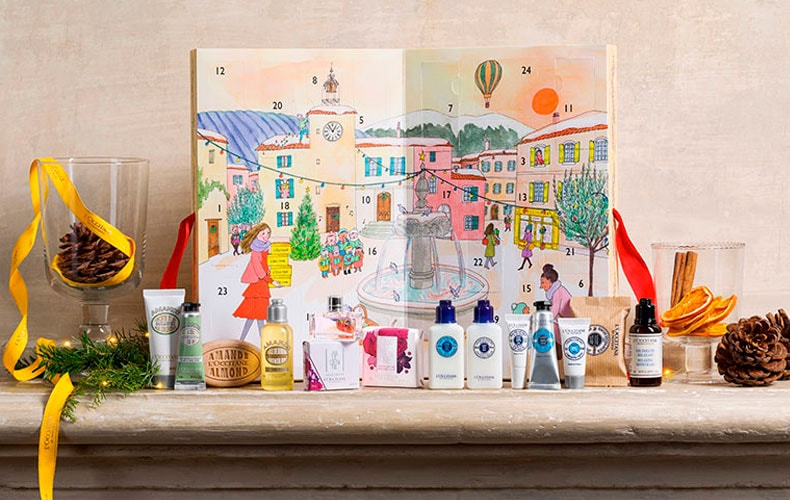 Calendario Adviento - L'Occitane