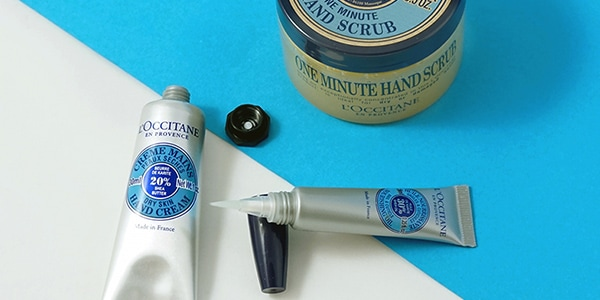 Hand care routine - l'Occitane