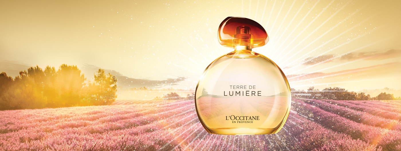 FRAGRANCES - sparkling scent - l'Occitane