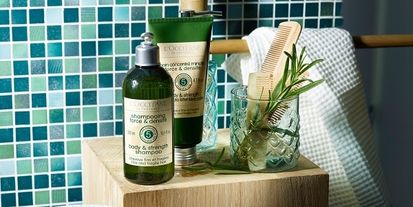 Thicker hair tips - l'Occitane