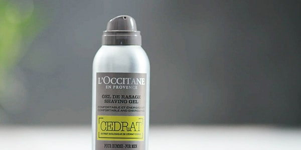 Shaving gel - l'Occitane