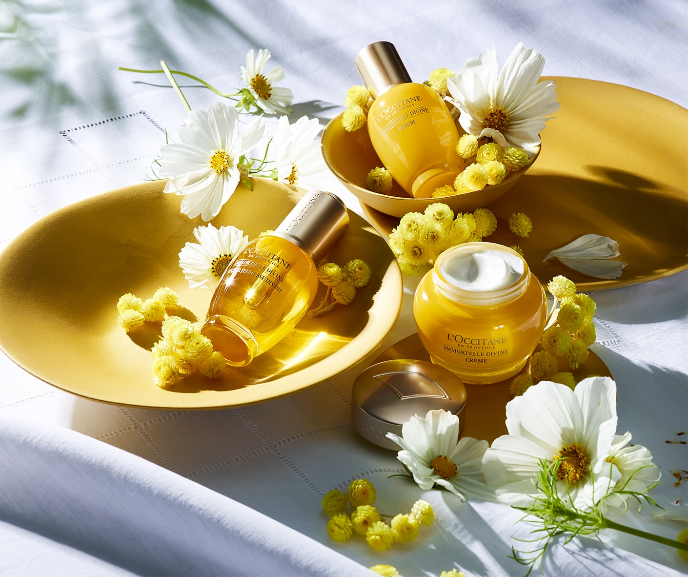 Immortelle Divine - anti-aging beauty routine - l'Occitane