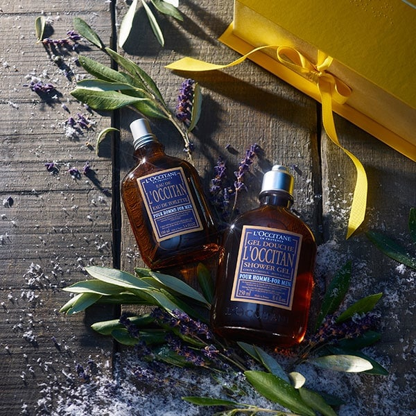 L'OCCITAN COLLECTION - The warm and masculine fragrance - l'Occitane