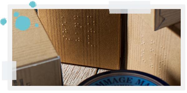 O braille nas nossas embalagens | L'OCCITANE
