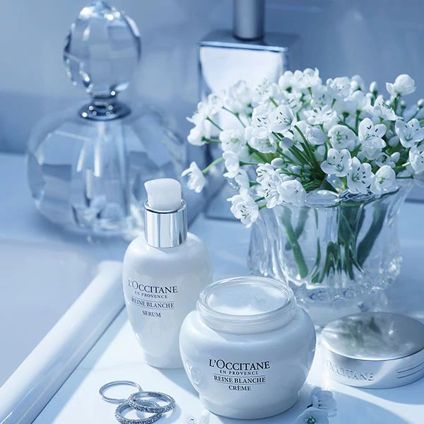 REINE BLANCHE COLLECTION - ultimate symbol of beauty and femininity - l'Occitane