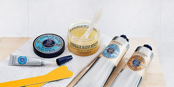 Tips for a relaxing spa day at home - SPOIL YOUR HANDS & FEET - L'Occitane