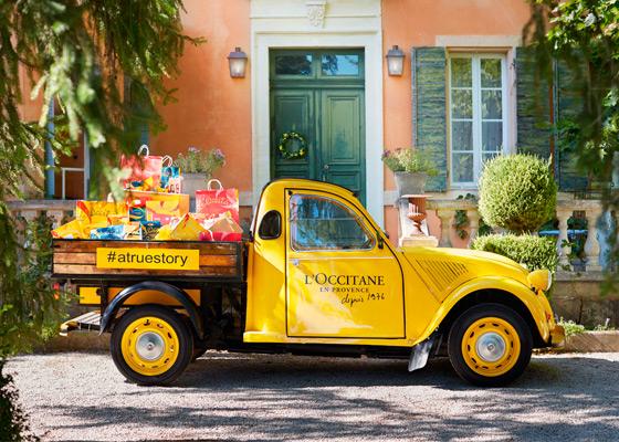 Camion L'Occitane