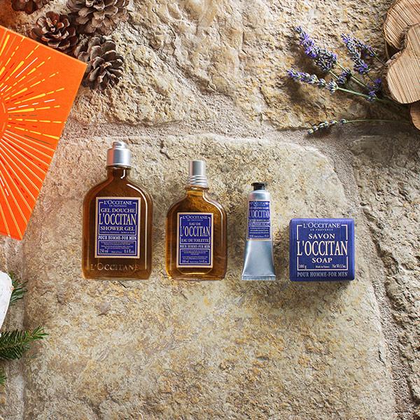 Miehet - shaving tips - l'Occitane