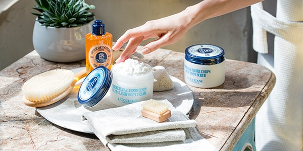 Repairing hair care - Beauty routine for supple skin - L'Occitane