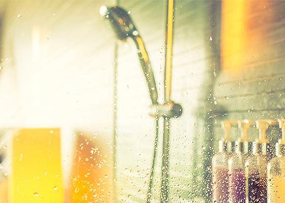 シャワージェルでリッチなバスタイム