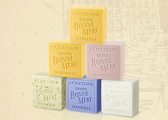 SUSTAINABLE PALM OIL - SOAPS - l'Ocitane