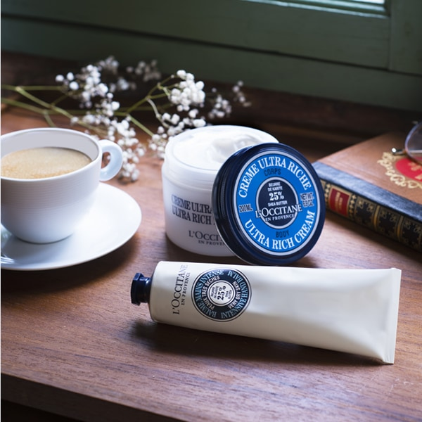 SHEA BUTTER BODY & HAND CARE - The ideal beauty ingredient - l'Occitane