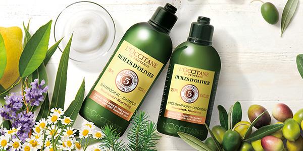 超ドライヘアの保湿には、極上オリーブ油(*5)が効果的