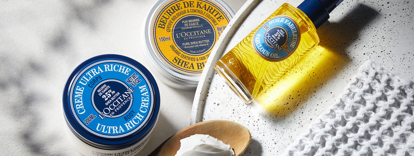 BODY & BATH - For Smoother Skin - l'Occitane