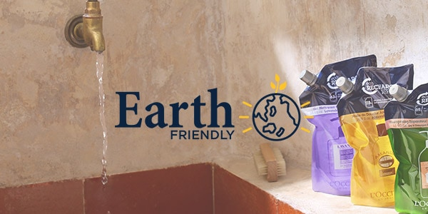 ENGAGEMENTS - EARTH FRIENDLY - L'Occitane
