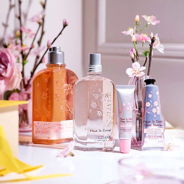 CHERRY BLOSSOM COLLECTION - FLORAL INSPIRATION - l'Occitane
