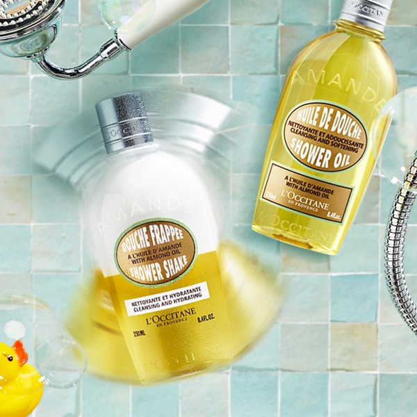 ALMOND COLLECTION - Treat your body with love - l'Occitane