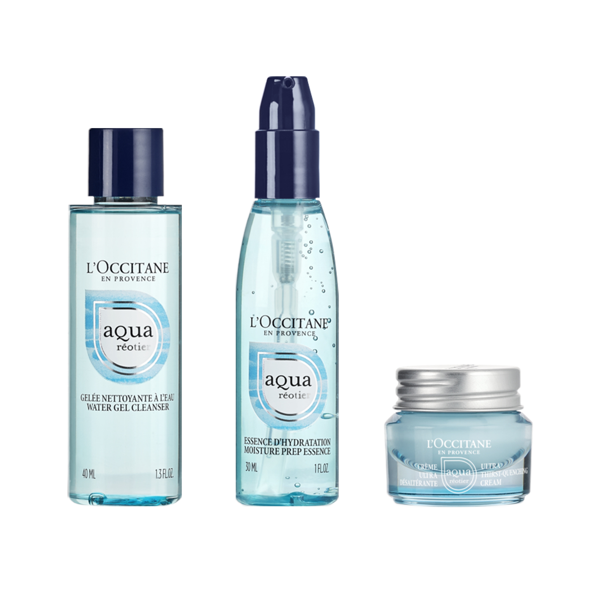 Aqua Réotier Cream Starter Kit