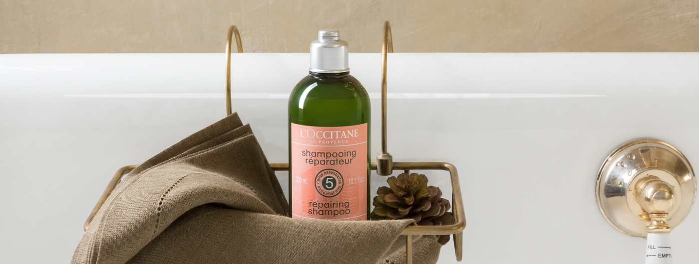 HÅRPLEIE - Smooth and nourished hair - l'Occitane