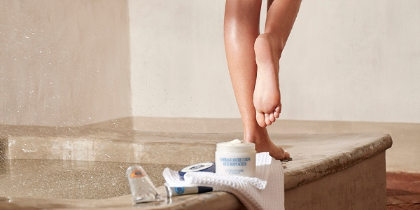 How to care for your feet - Tip - l'Occitane