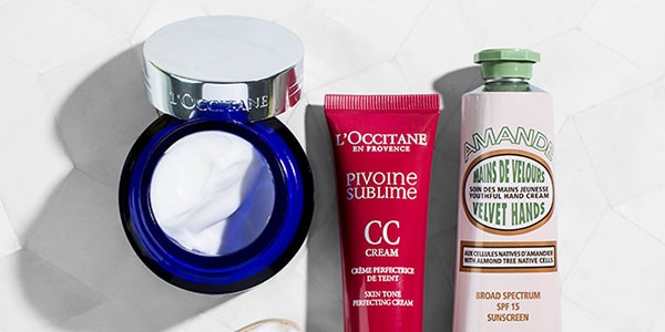 SPF products - L'OCCITANE
