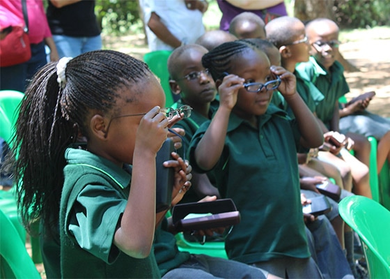 L'OCCITANE CARES ABOUT SIGHT  - PROJECT SOUTH AFRICA - L'Occitane