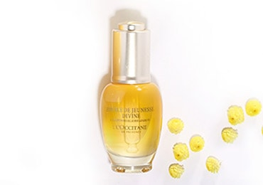 A sensorial experience - DIVINE YOUTH OIL - L'occitane
