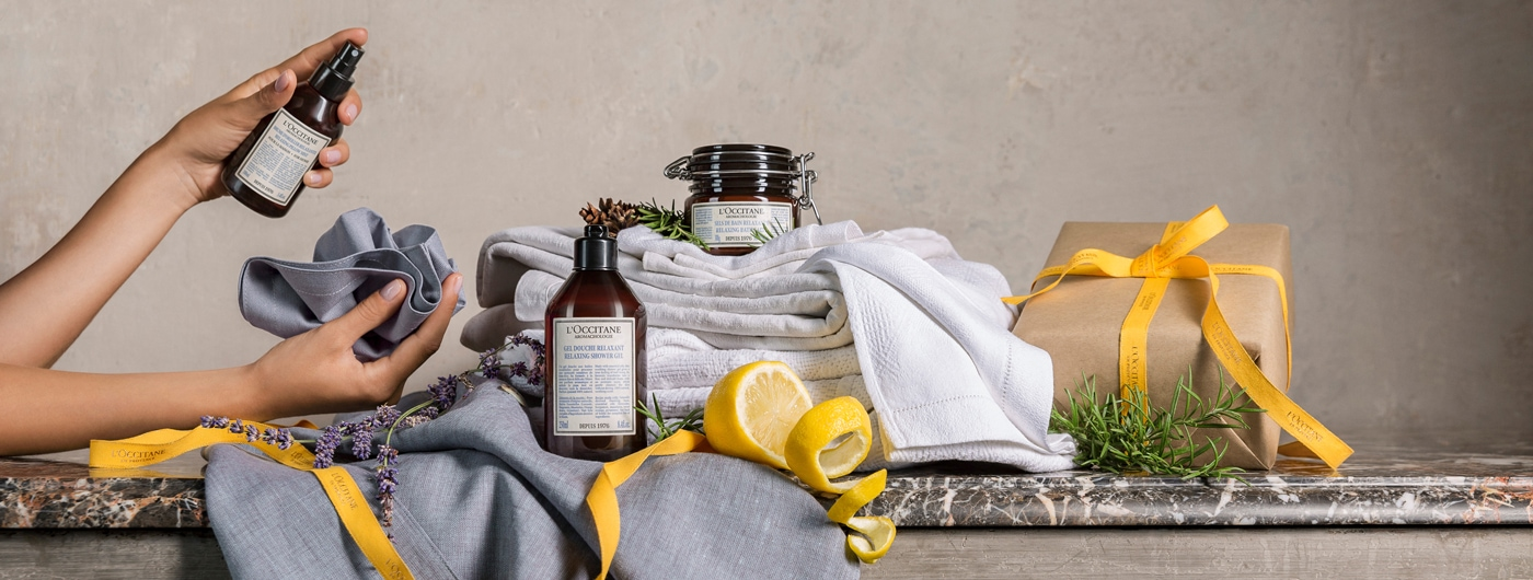 HOME FRAGRANCES - Relaxing Pillow Mist - l'Occitane