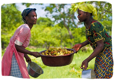 mujeres burkinesas
